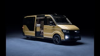 This is the first MOIA van designed for ride sharing