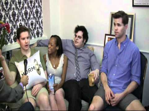 Book of Mormon Cast Interview Part One