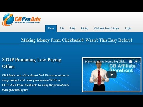 How To Make Money With Clickbank For Free And Blog For Beginners