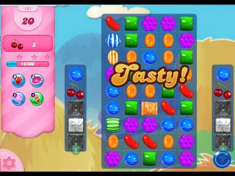 Candy Crush Saga   level 181 no boosters