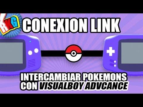 Conexion Link - Intercambiar Pokemons con VisualBoy Advance M