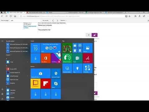 Solve long delay black blank screen after login Windows 10