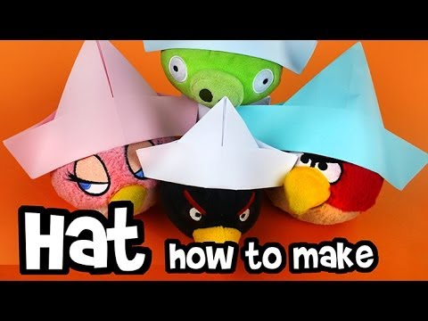 How to make - Paper Hat