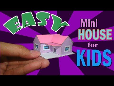 How to Make Cardboard House for Kids   Cardboard House Tutorial for Kids