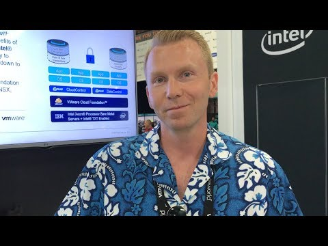 VMworld 2017 US - at HyTrust, Erik Jeansson discusses KeyControl for VMware VM or vSAN encryption