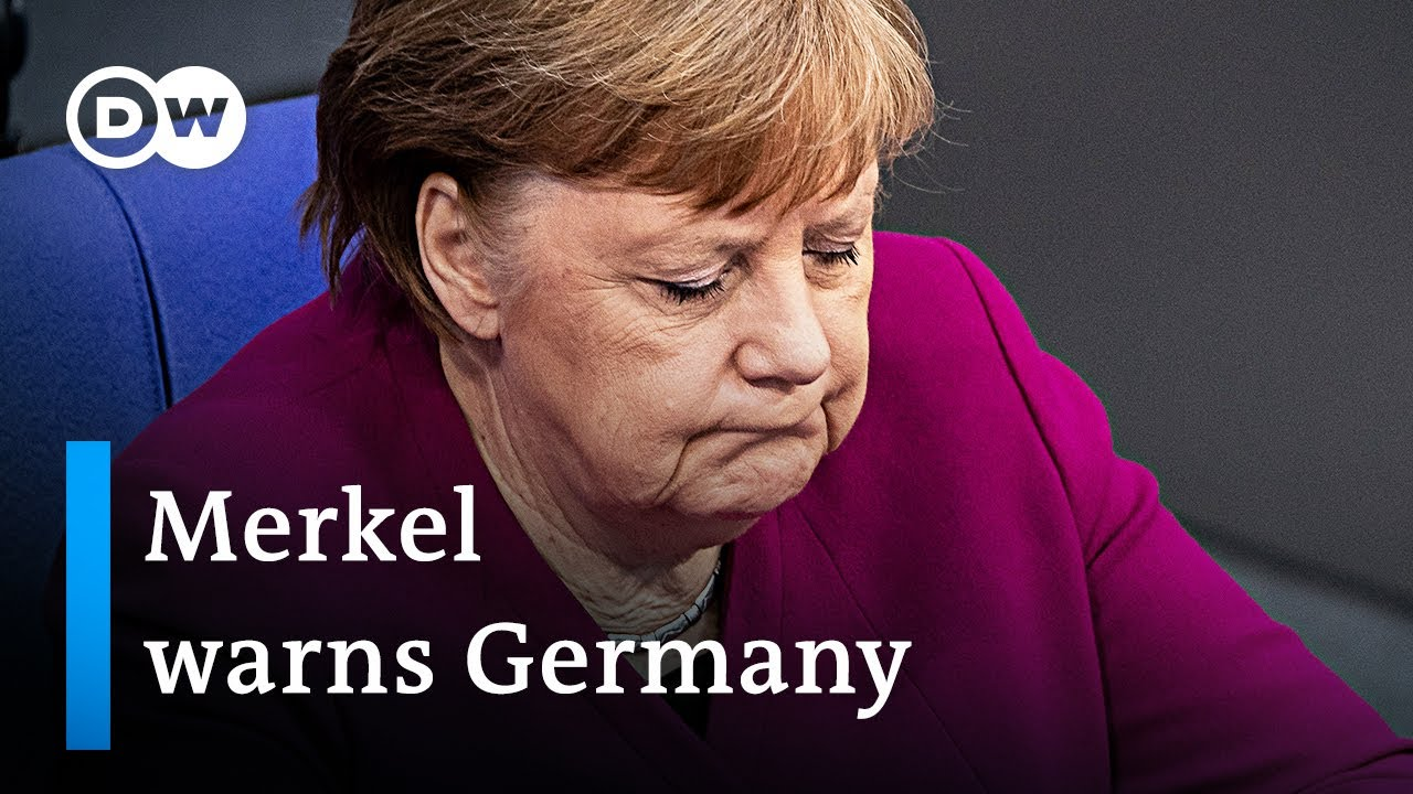 'The hardest decisions of my career' - Angela Merkel addresses German Parliament   DW News