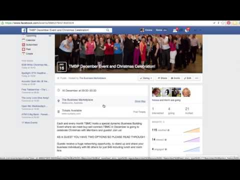 How to find, invite and share an Event on FB