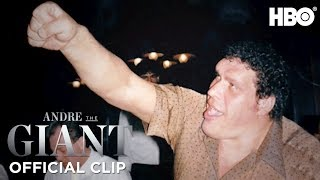 'The Greatest Drinker of All Time' Official Clip | Andre The Giant | HBO