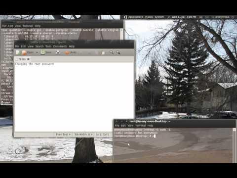 Change root Password Linux