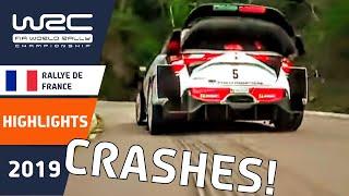 WRC - Tour de Corse 2019: Rally Crash Compilation