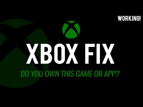 ''Do you own this game or app?'' XBOX ONE FIX JANUARY 2017 WORKING - Xbox one disc SOLVED FIX