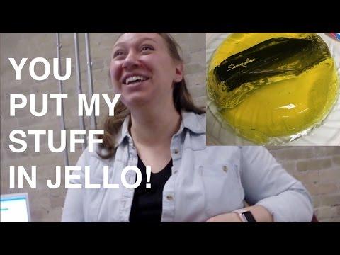 Jello Mold Office Prank
