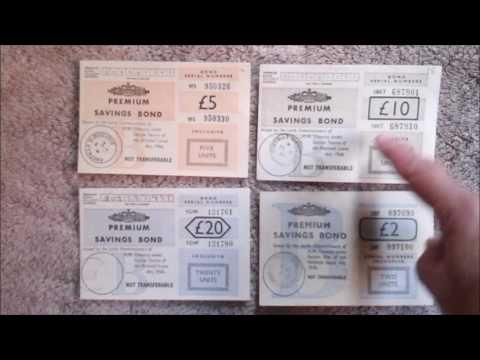 Premium Bonds - 60 Years of Designs