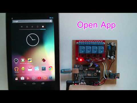 Android Arduino Wifi Control Devices with ESP8266 Module