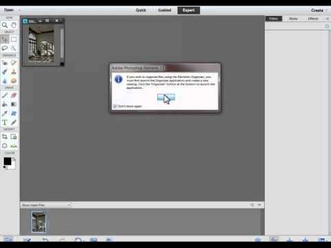 Photoshop Elements 11 process multiple files
