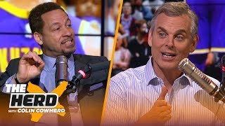 Chris Broussard and Colin have a mock All-Star draft, Talk Lakers