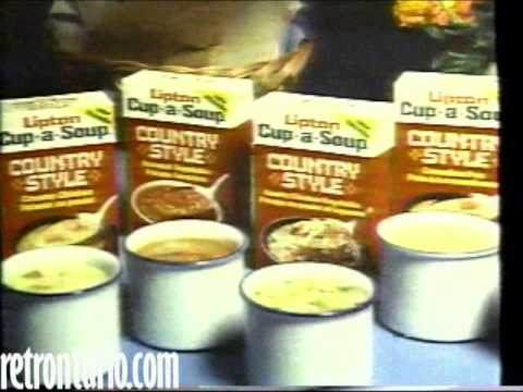 Lipton Cup of Soup 1980