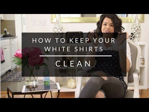 How To Keep Your White Shirts Clean