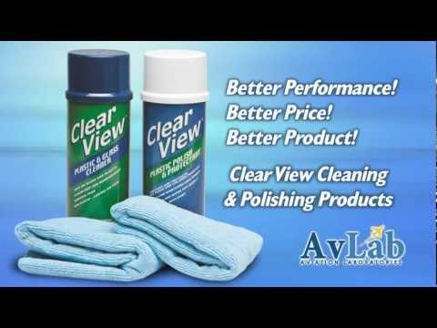 Clear View Plastic & Glass Cleaner / Plastic Protectant