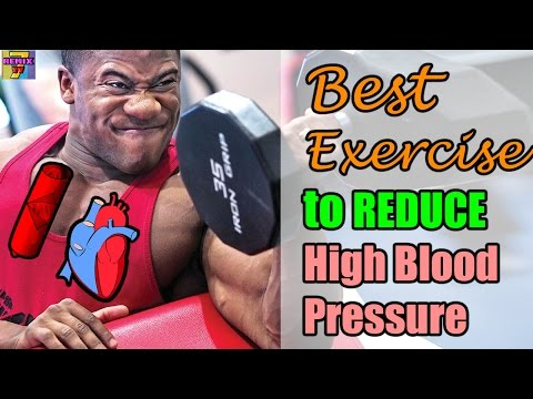 Exercise for High Blood Pressure | Best Exercise to Reduce High Blood Pressure