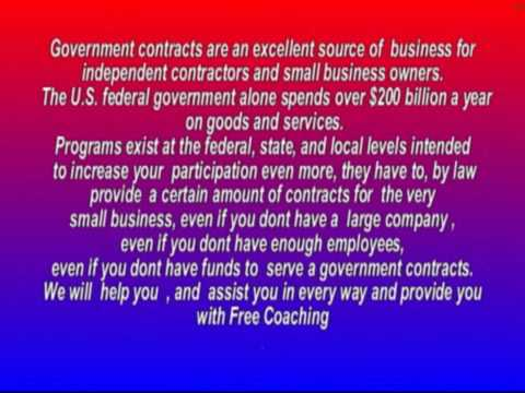 Government Contracts For Your Small Business