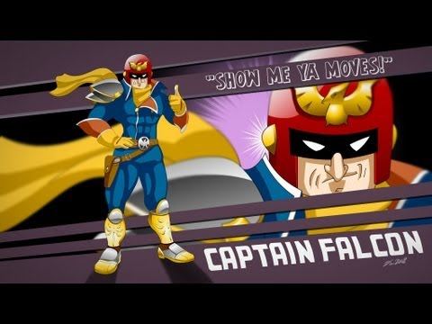 How to unlock Captain Falcon in SSF2 Gameplay 2