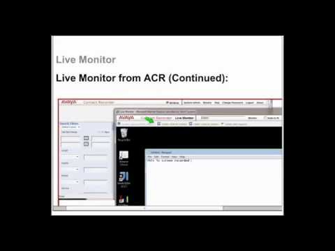 Avaya ACR WFO 12.1 Technical Overview Release Notes