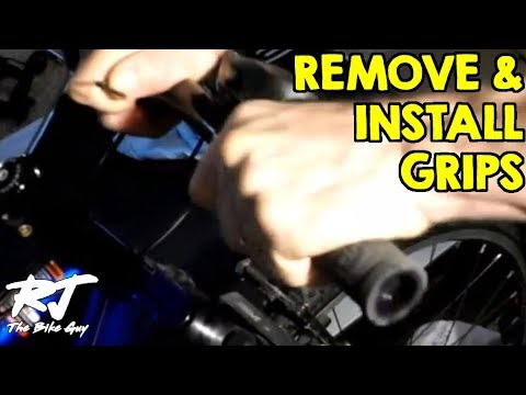 How To Remove/Install Bike Handlebar Grips