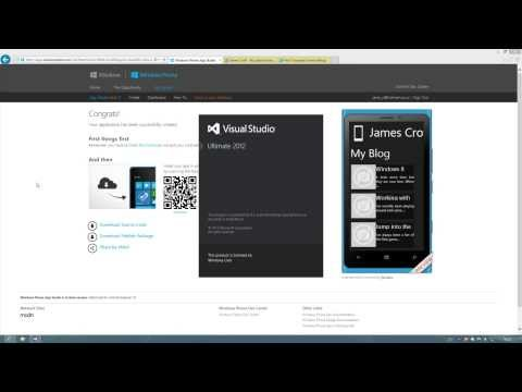 How to: Creating mobile apps using Windows Phone App Studio
