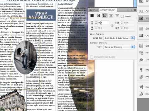 Adobe InDesign CS5.5 - Objects and Text