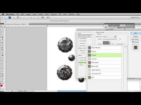 How to make rubies, diamonds and gems in Photoshop with layer styles