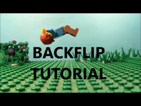 Lego Back Flip Tutorial