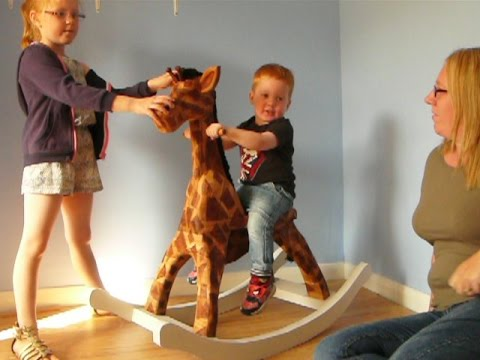 Gilly The Giraffe Rocking Horse Project - Test Drive