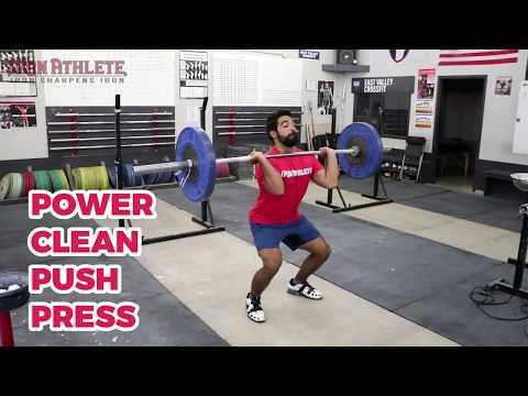 Power Clean + Push Press