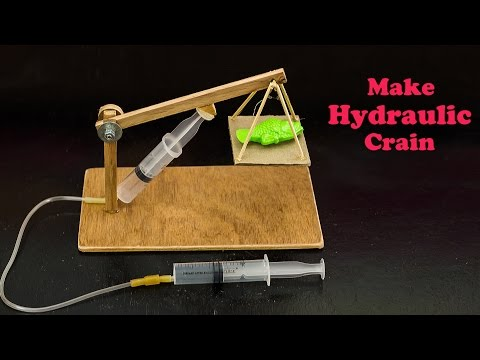 School Science Projects Hydraulic Crain