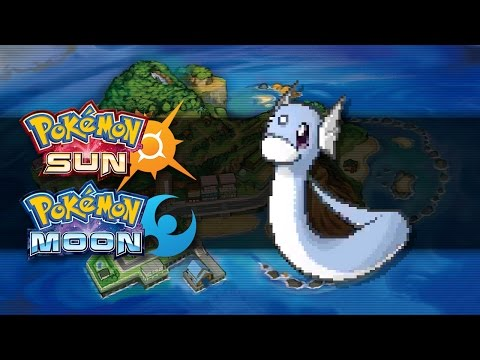 Pokemon Sun and Moon | How To Get Dratini