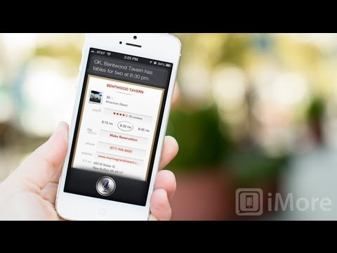 How to find restaurants, read reviews, and make reservations using Siri