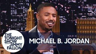 Download Michael B. Jordan on Push-Ups with Lupita Nyong'o and Not Saying ″Wakanda Forever″ Video