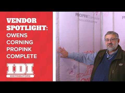 Owens Corning Insulation Guide: PROPINK Complete Blown-in Wall System
