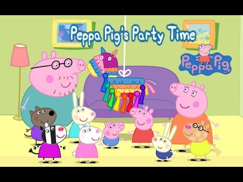 Peppa Pig's Party Time Part 1- top app demos for kids - Ellie