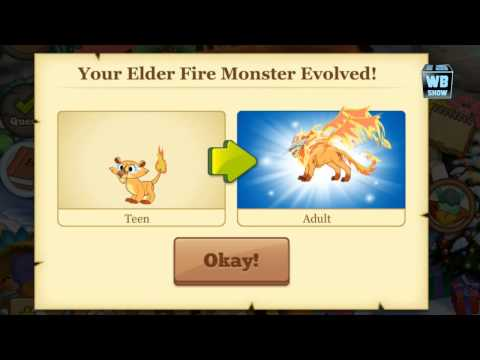 How to breed Elder Fire Monster in Tiny Monsters! WBANGCA!