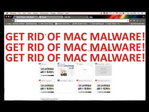 Get rid of Adware/Malware on your mac! Easy!