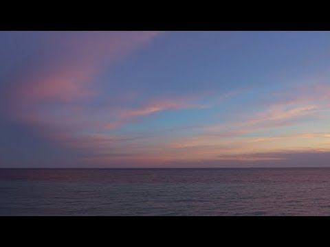 Beautiful Sky and Calm Water  | Stock Footage