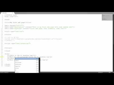 HTML Tutorial #8: Headings and Formatting