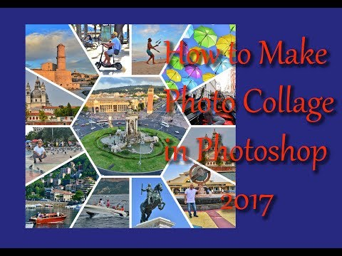 How to Make Photo Collage in Photoshop 2017