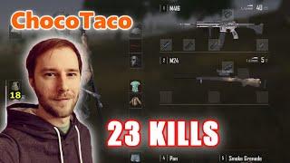 ChocoTaco & Boomzy - 23 KILLS - M416 + M24 - DUO - PUBG