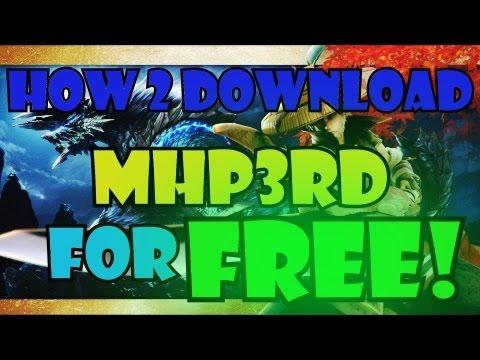 HD Tutorial-FREE Monster hunter portable 3rd +deutschpatch DOWNLOAD(Ausführlich!)