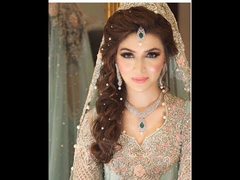 Stylish And Trendy Pakistani Bridal Wedding Hairstyles For Special Day