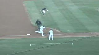 Lucas Erceg hits his first Southern League homer