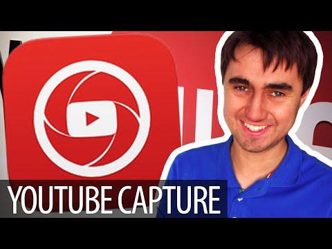 iOS приложение для видеоблоггеров - YouTube Capture